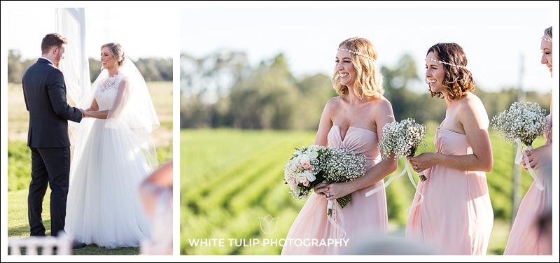 wedding ceremony at riverbank estate swan valley