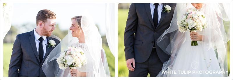 riverbank estate wedding ceremony