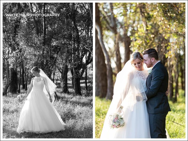 swan valley wedding portraits