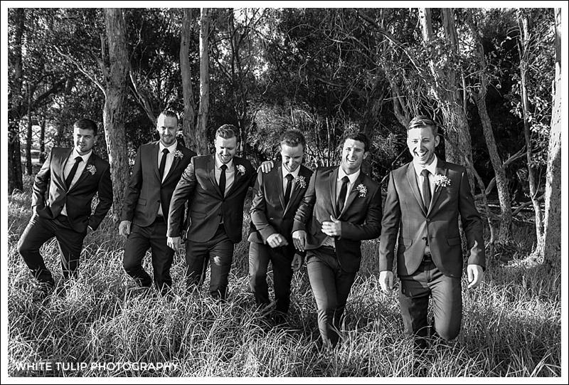 swan valley groomsmen portraits