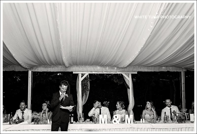 wedding marquee riverbank estate