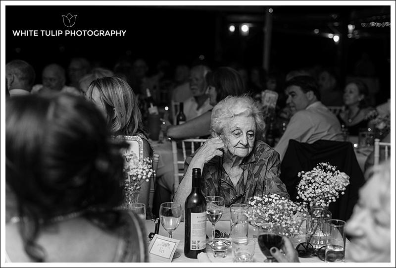 wedding reception grandma