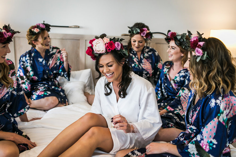 como treasury hotel wedding