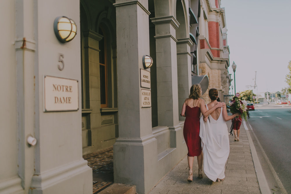 west end fremantle wedding