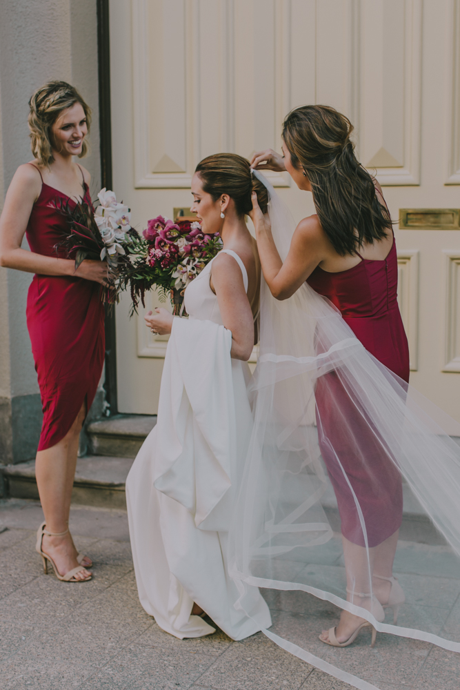 bridesmaids wedding fremantle