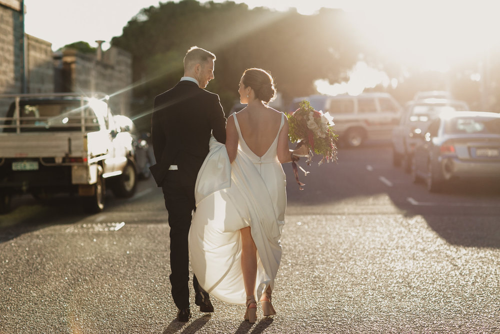 fremantle summer wedding