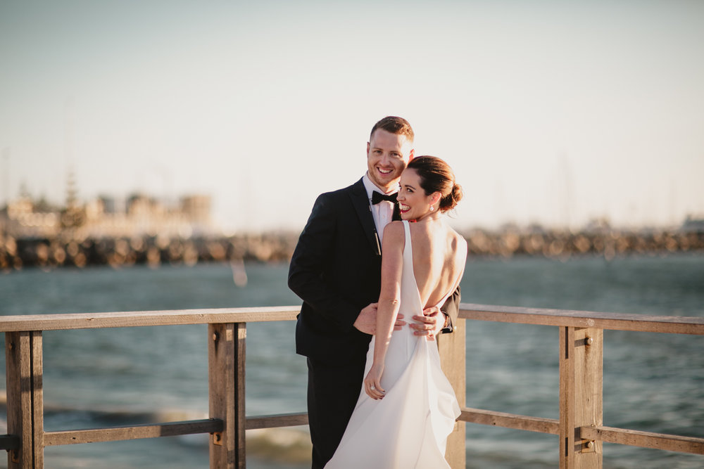 bathers beach wedding fremantle