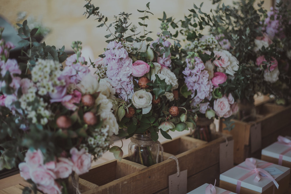 spring native flowers australian wedding