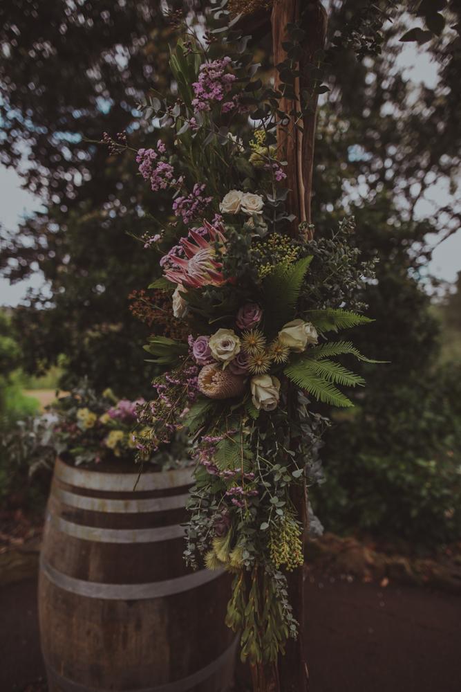 australian spring wedding native flowers