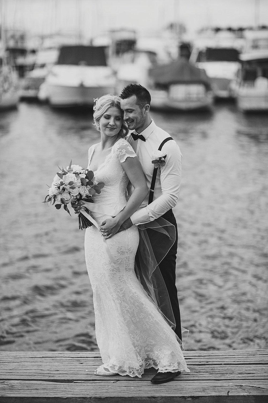boat harbour wedding