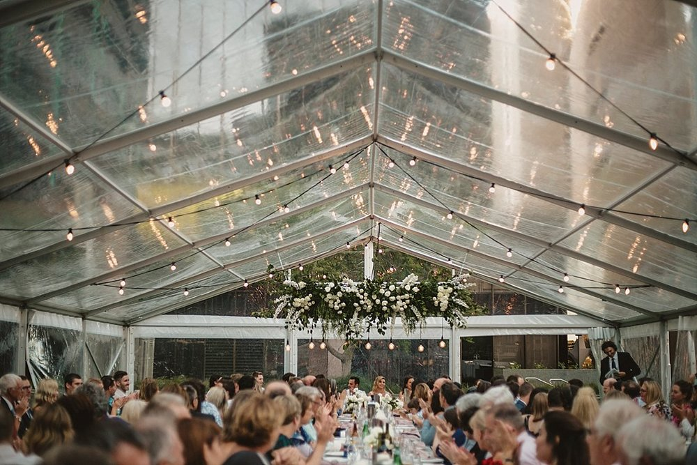 como treasury hotel marquee wedding