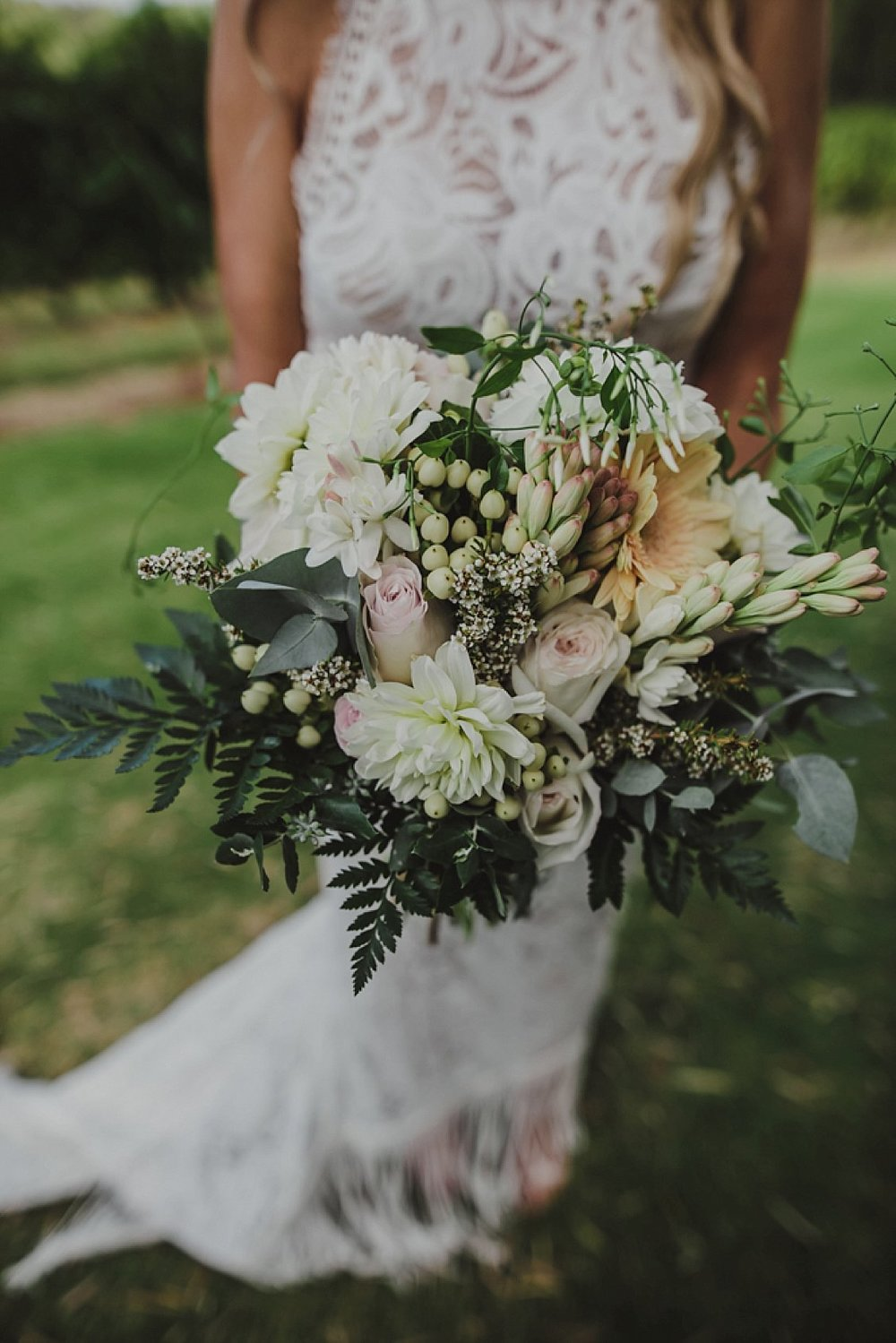 bridal bouquet foliage