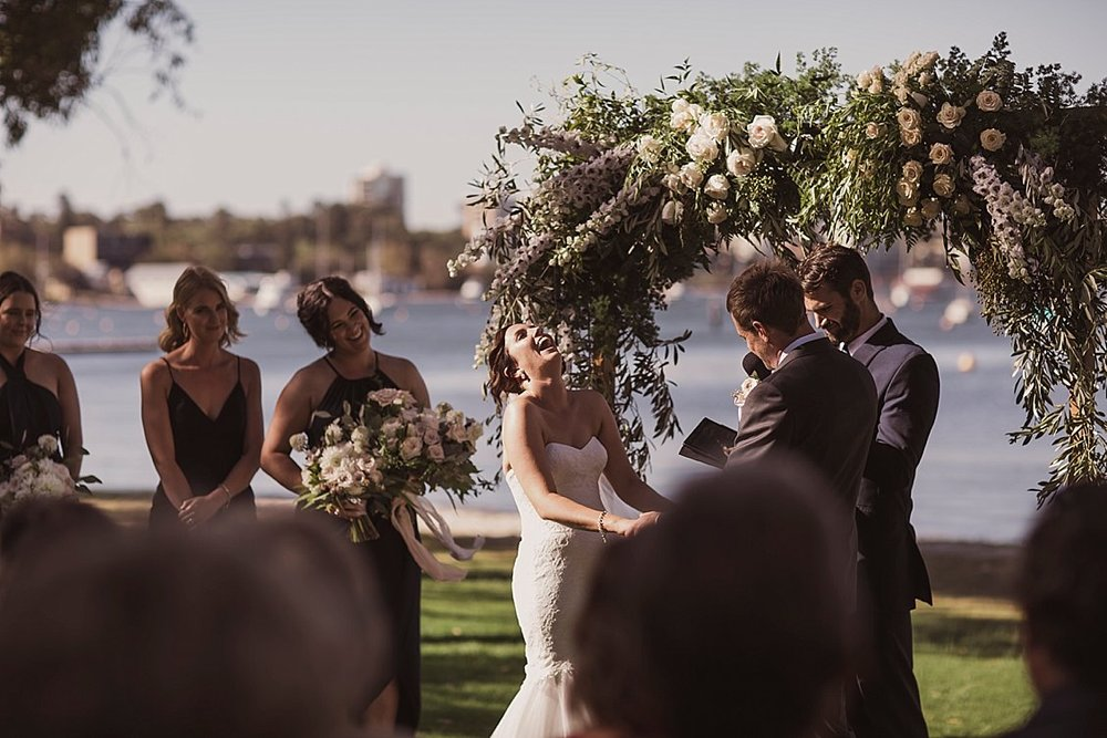 matilda bay wedding perth