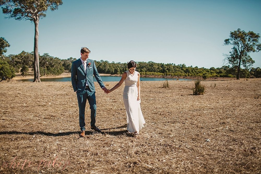 australian summer country wedding