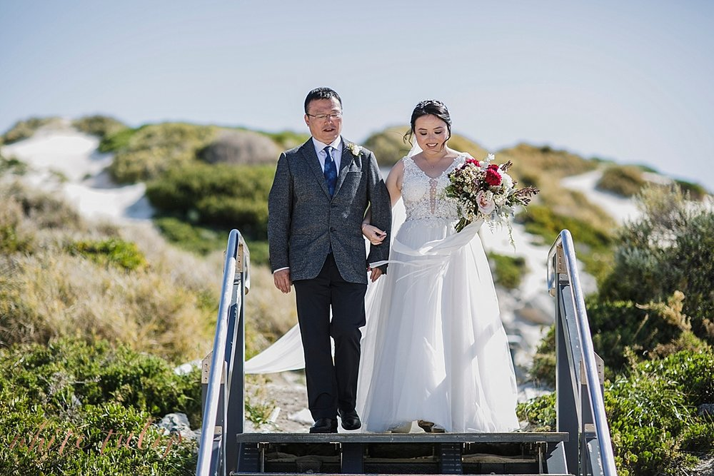 little parakeet bay rottnest wedding