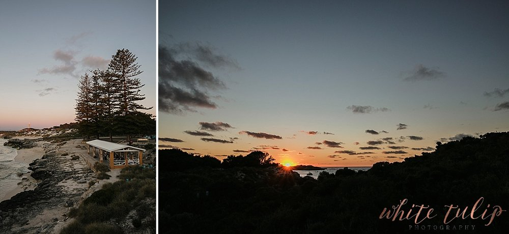 rottnest island sunset