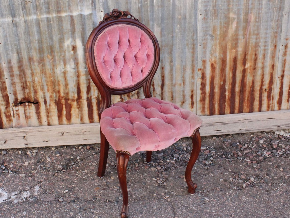 Lisette Tufted Parlour Chair