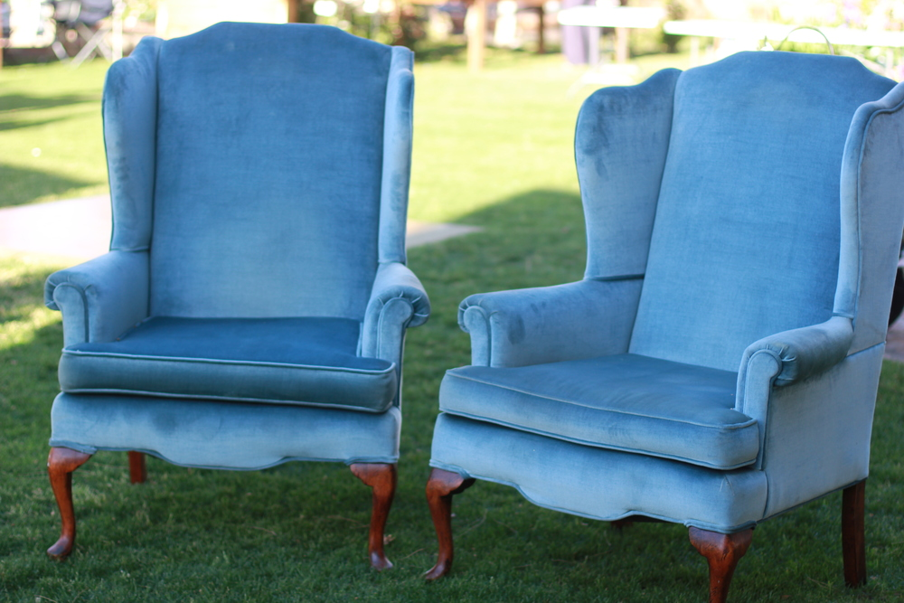 Johnny and June Upholstered Chairs