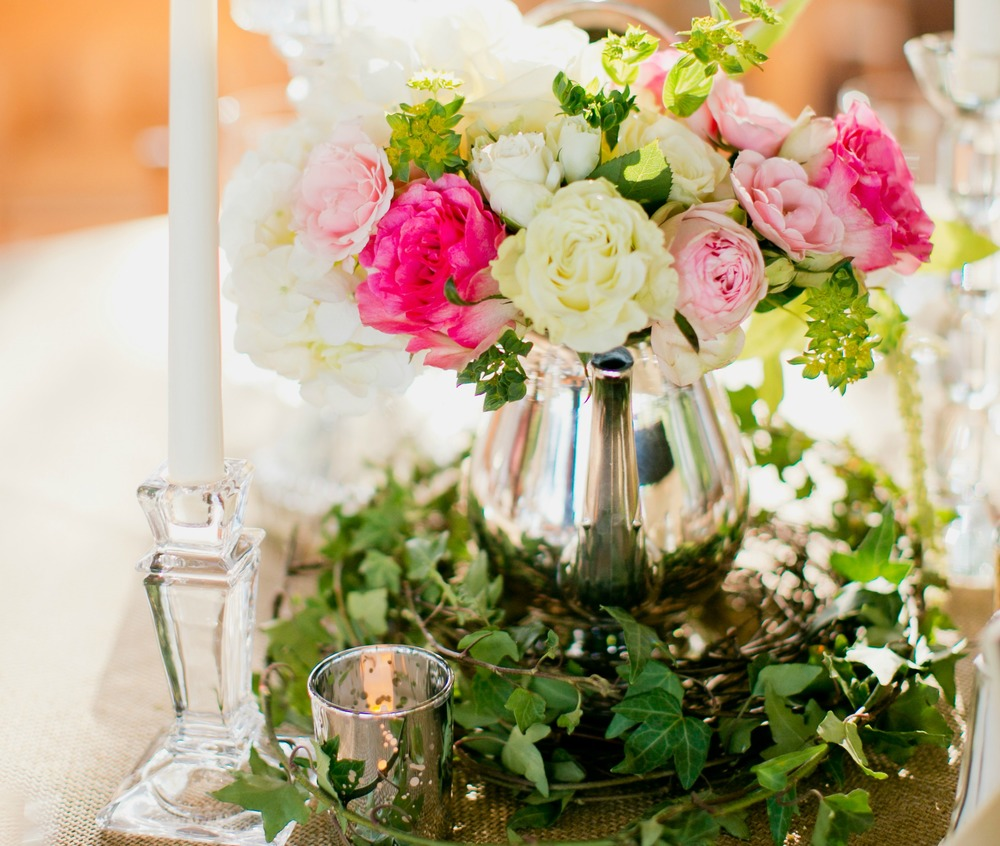 Floral centerpiece and design