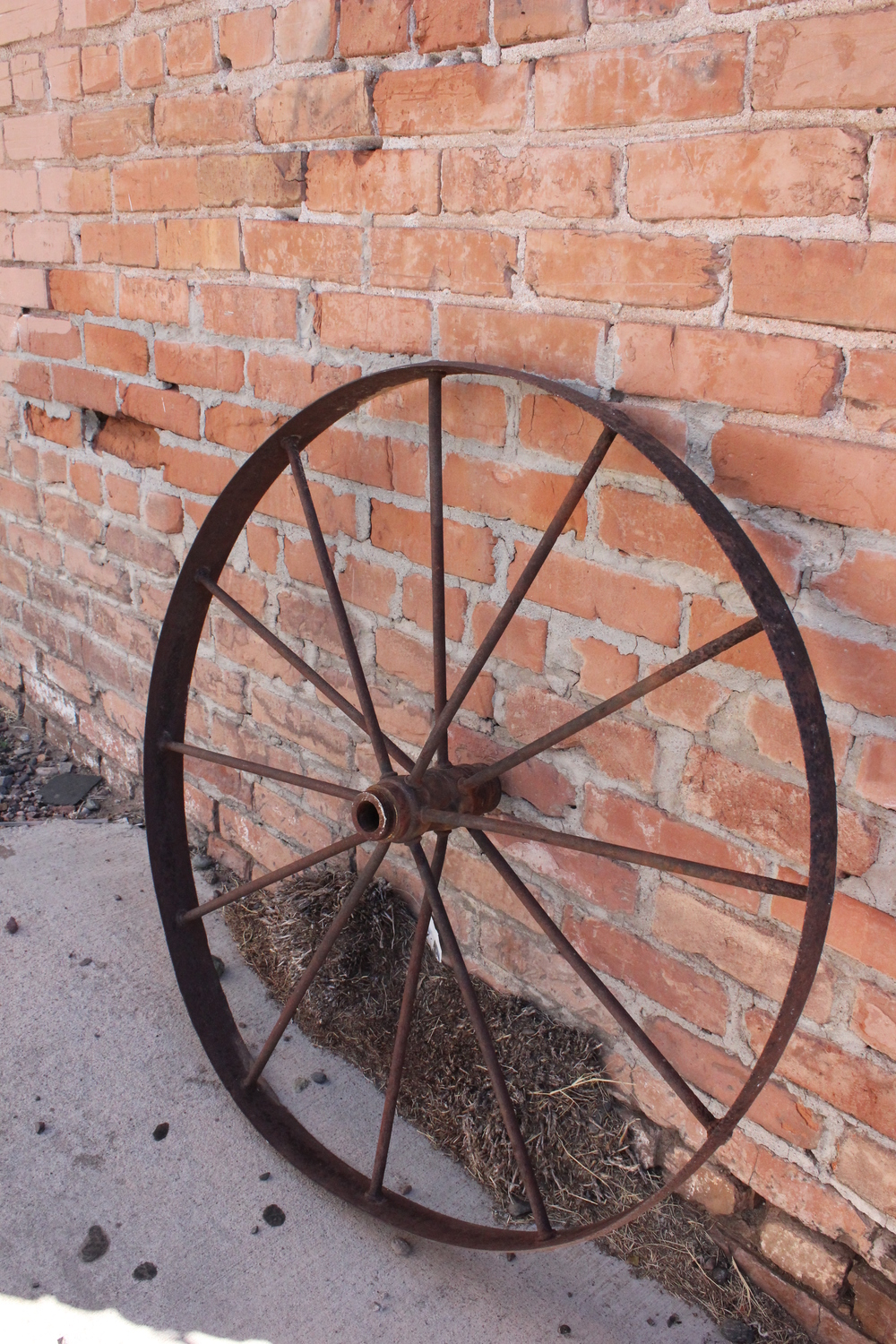 Vintage Wagon Wheel