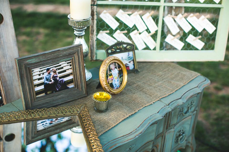 Gold tray, Genevieve vanity, vintage window