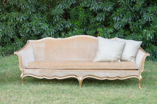 We have revamped Jacqueline with gold wood- isn't she beautiful?