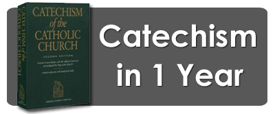 Read the Catechism of the Catholic Church in a year!