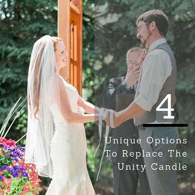 4 Unique Options To Replace The Unity Candle 💍🎩💍💍🎩🎩Check out my blog for some creative ideas to replace the unity candle  LIVE LINK IN BIO  #isaidyes #engaged #midwestbride #bridetobe #coloradoweddingphotographer #coloradoweddingphotography #denverweddings #mountainwedding #coloradowedding #coloradobride #bridetobe2017 #rockymountains #colorado #weddingtips #groom #doesthisringmakemelookengaged #weddingplanning