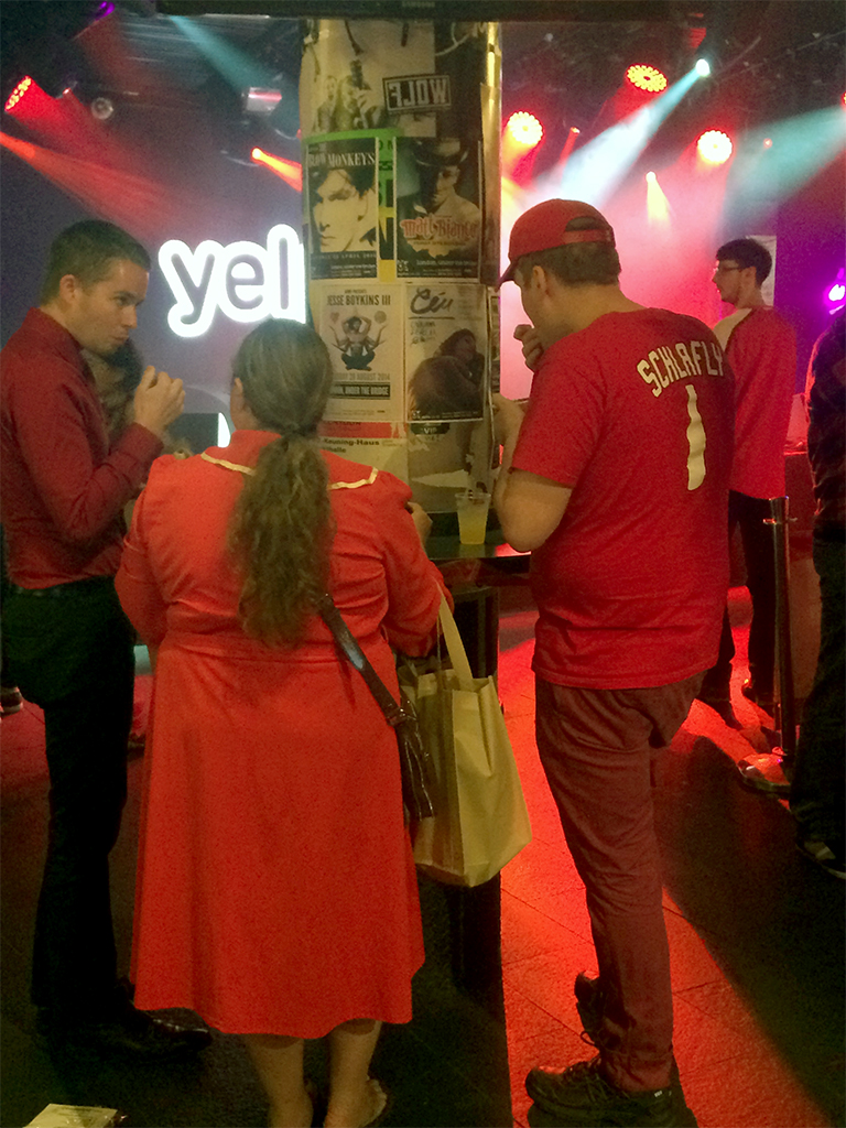 Yelp! London Paints the Town Red