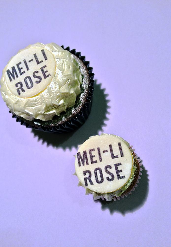 Mei-Li Rose Cupcakes