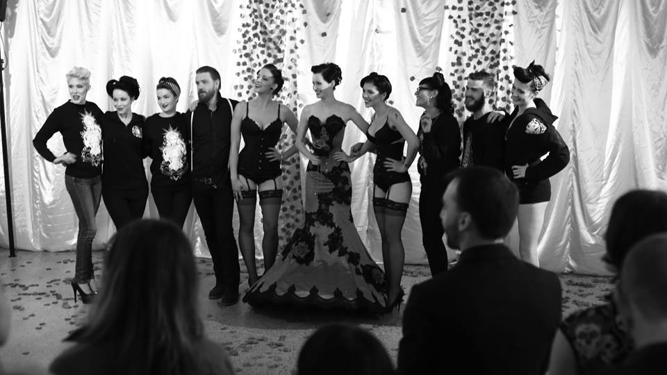 The models take a bow! Photo: Anthony Corban