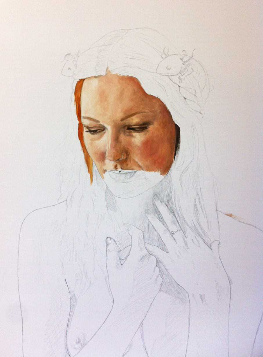 Underpainting