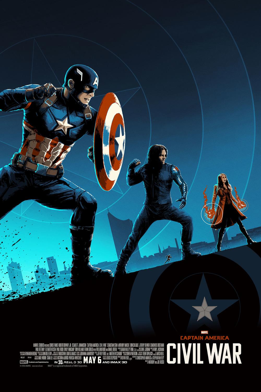 Captain America: Civil War — The Art of Matt Ferguson