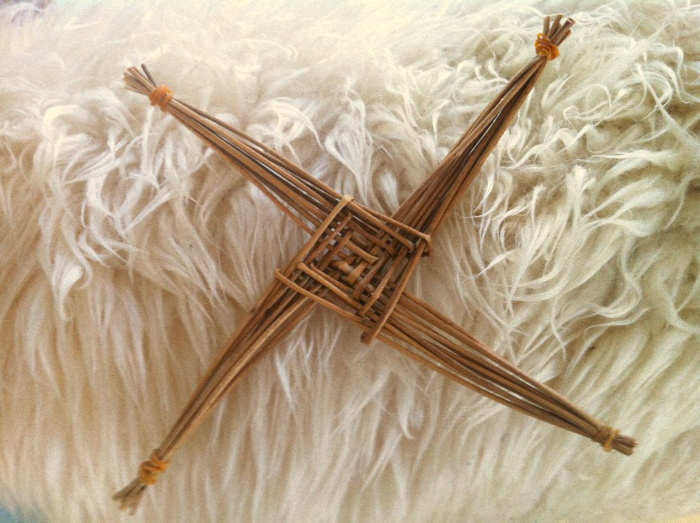 St. Brigid's Cross. America Village