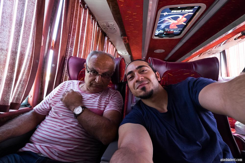 På vei til Isfahan