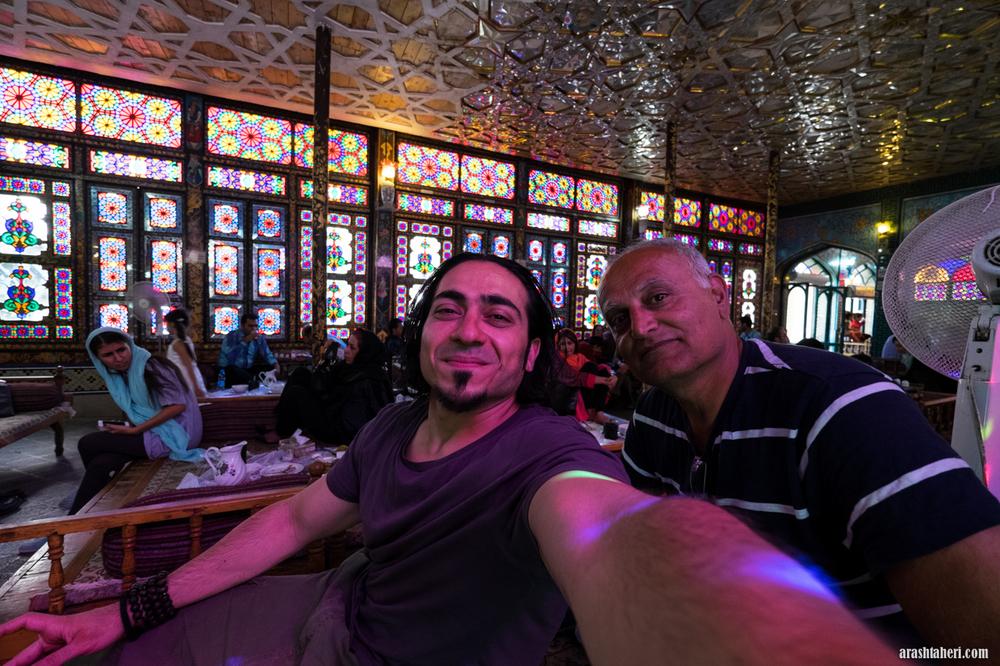 Tradsjonell restaurant i Isfahan