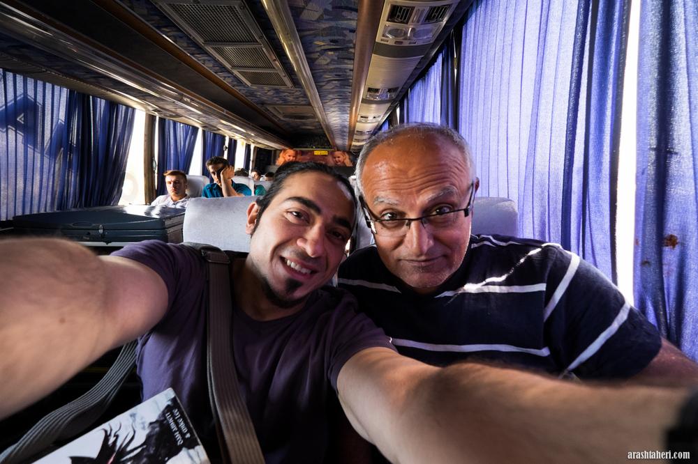 På vei til Shiraz