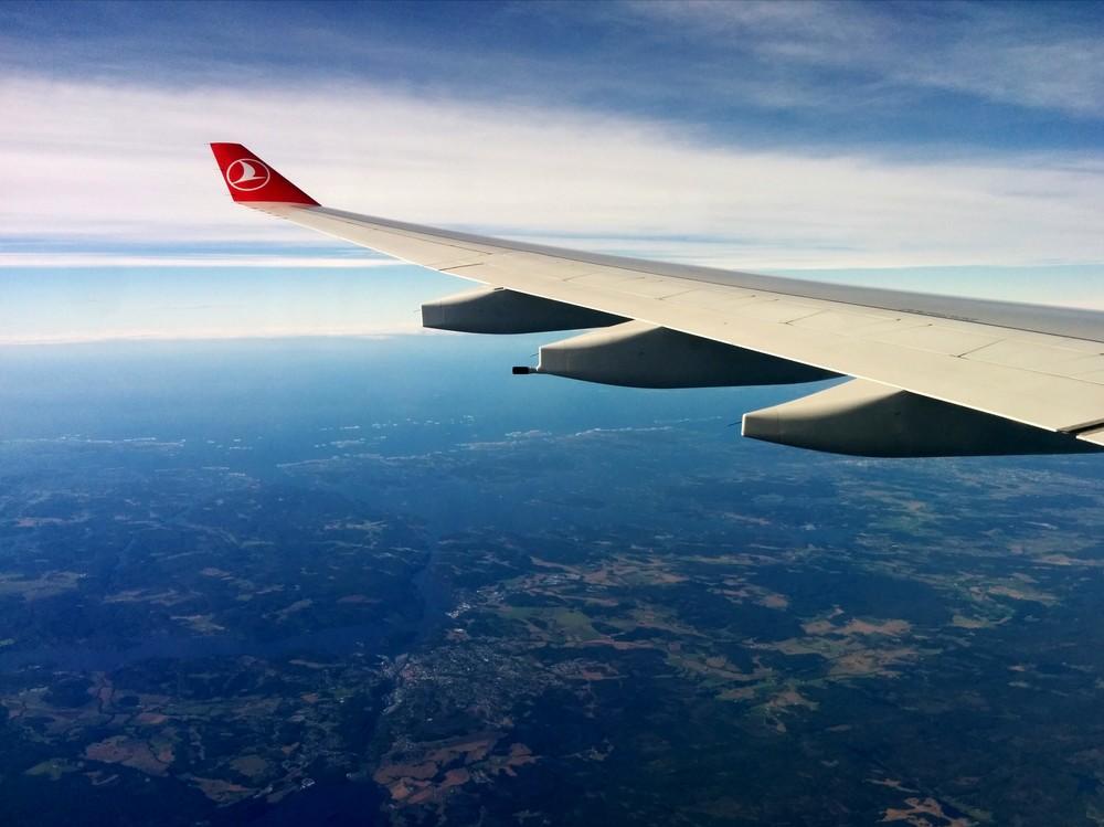 På vei hjem til Norge