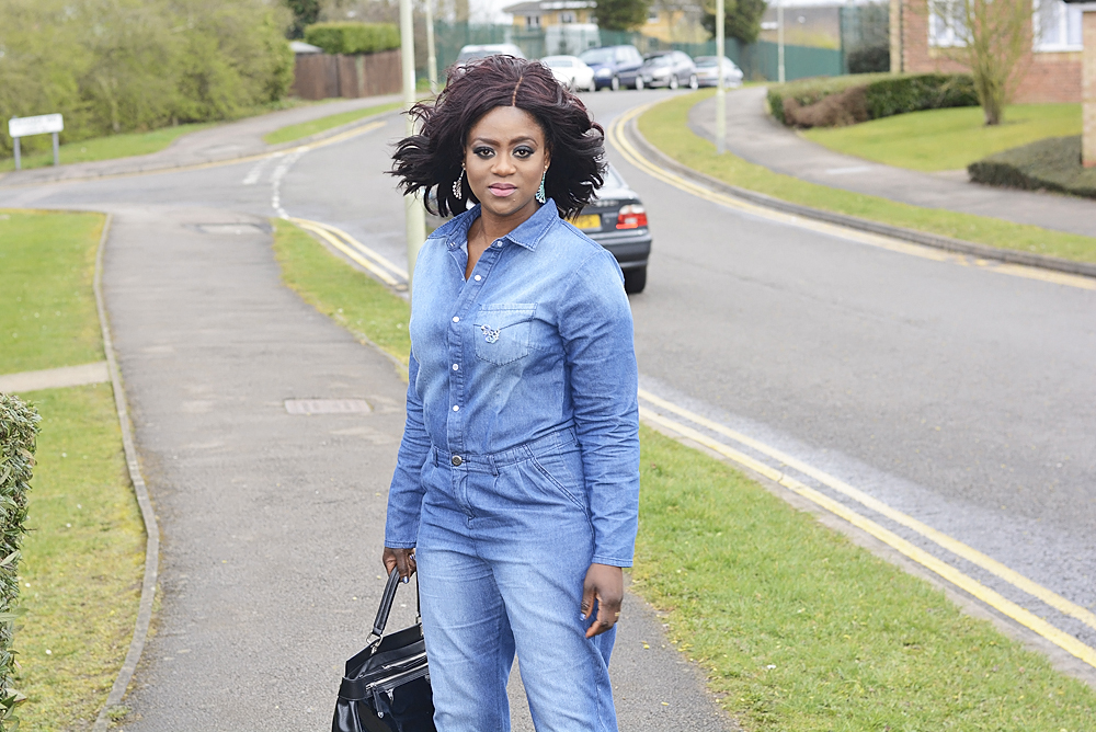Denim is definitely a wardrobe staple, whether it is skirt, shirt, or boiler suit like this. It's wearable any season and its uses are endless. I bought this couple of weeks back from Asos and I think I will be wearing it a lot as it is fantastically slimming and roomy. I think they still have it on Asos, I will leave a link to buy below. I am hoping to embark on another project really soon, so help me God. Will be sharing it with you guys later. Thanks for stopping by. OUTFIT: Overall- Daisy street (here)/ Heel- Zara(similar here)/ Bag- Next(through next choice)/ Earring- swarovski(through secretsales.com) Twitter: @debbiefashstyle                                                                                                            Instagram:@debbiefashstyle                                                                                                                                               www.facebook.com/debbiefashstyle