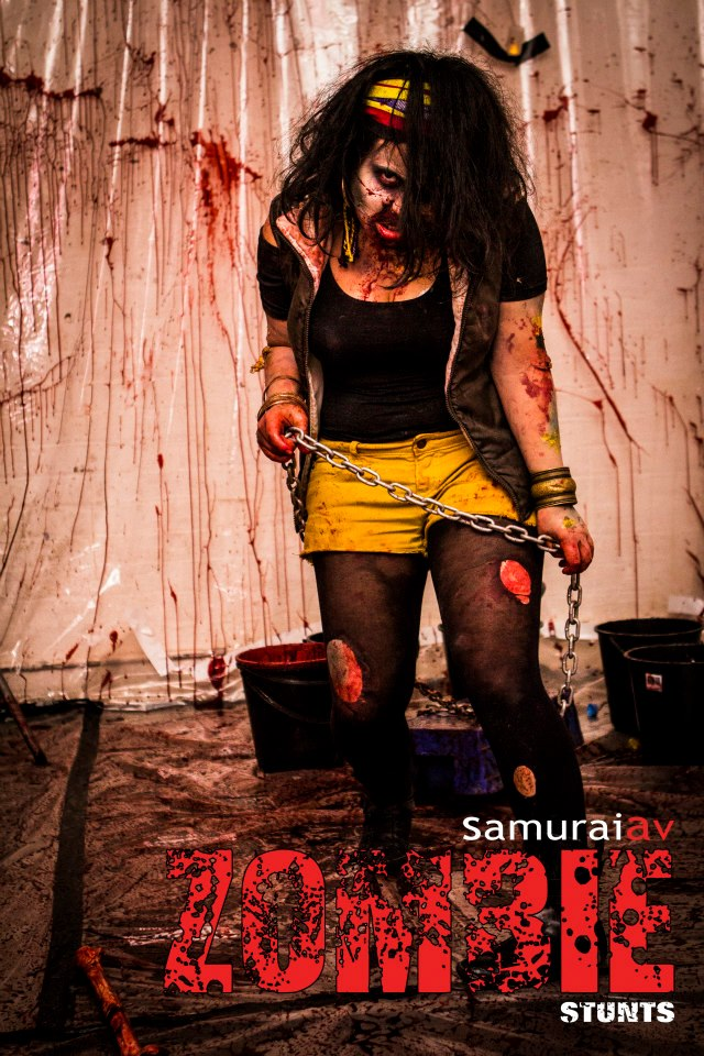 Samurai Zombie Halloween event, 2012