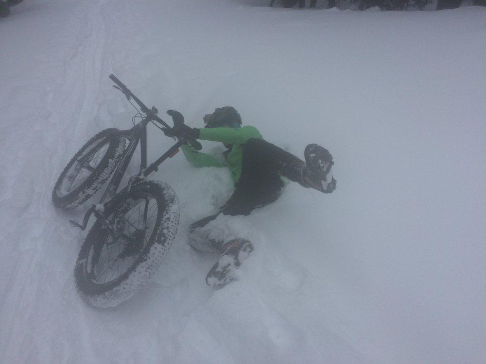 Chad rides a Twreck! Har-d har.