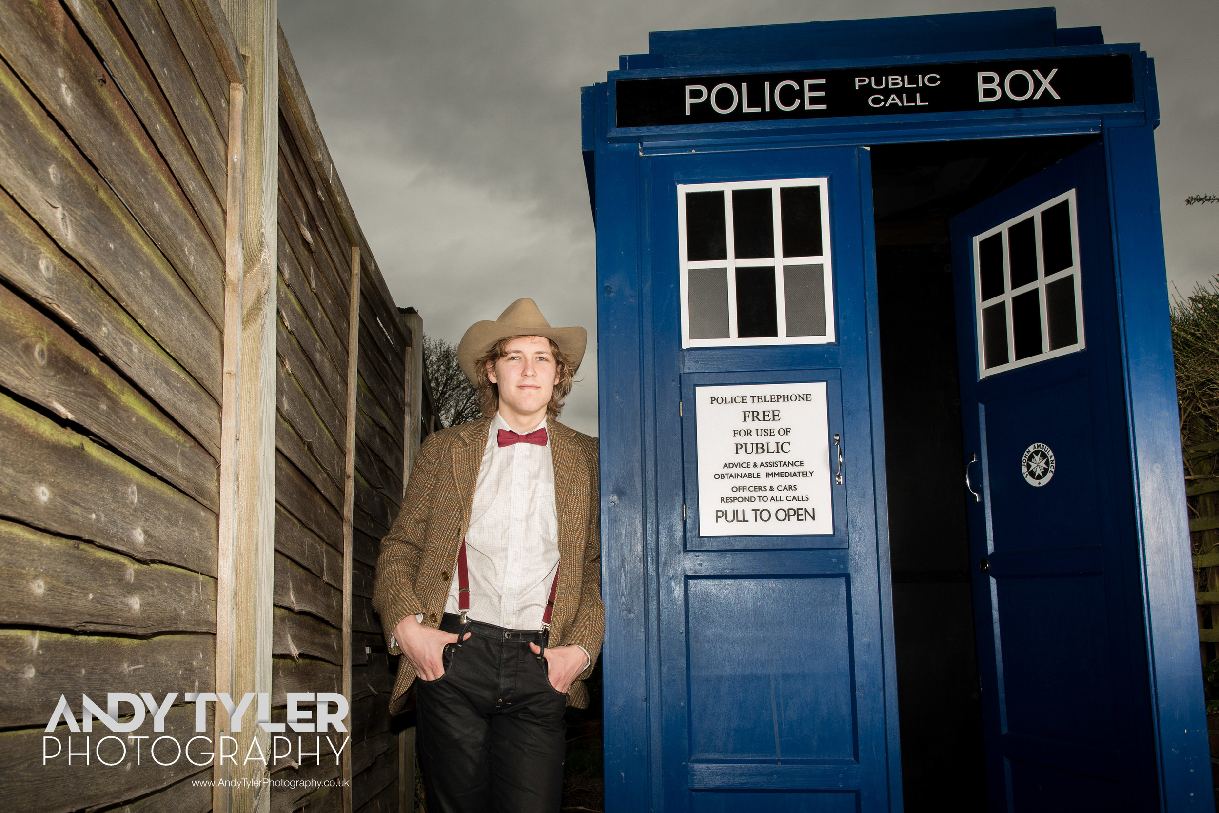 Dr Who Super Fan Tom Nichols © 2013 Andy Tyler Photography