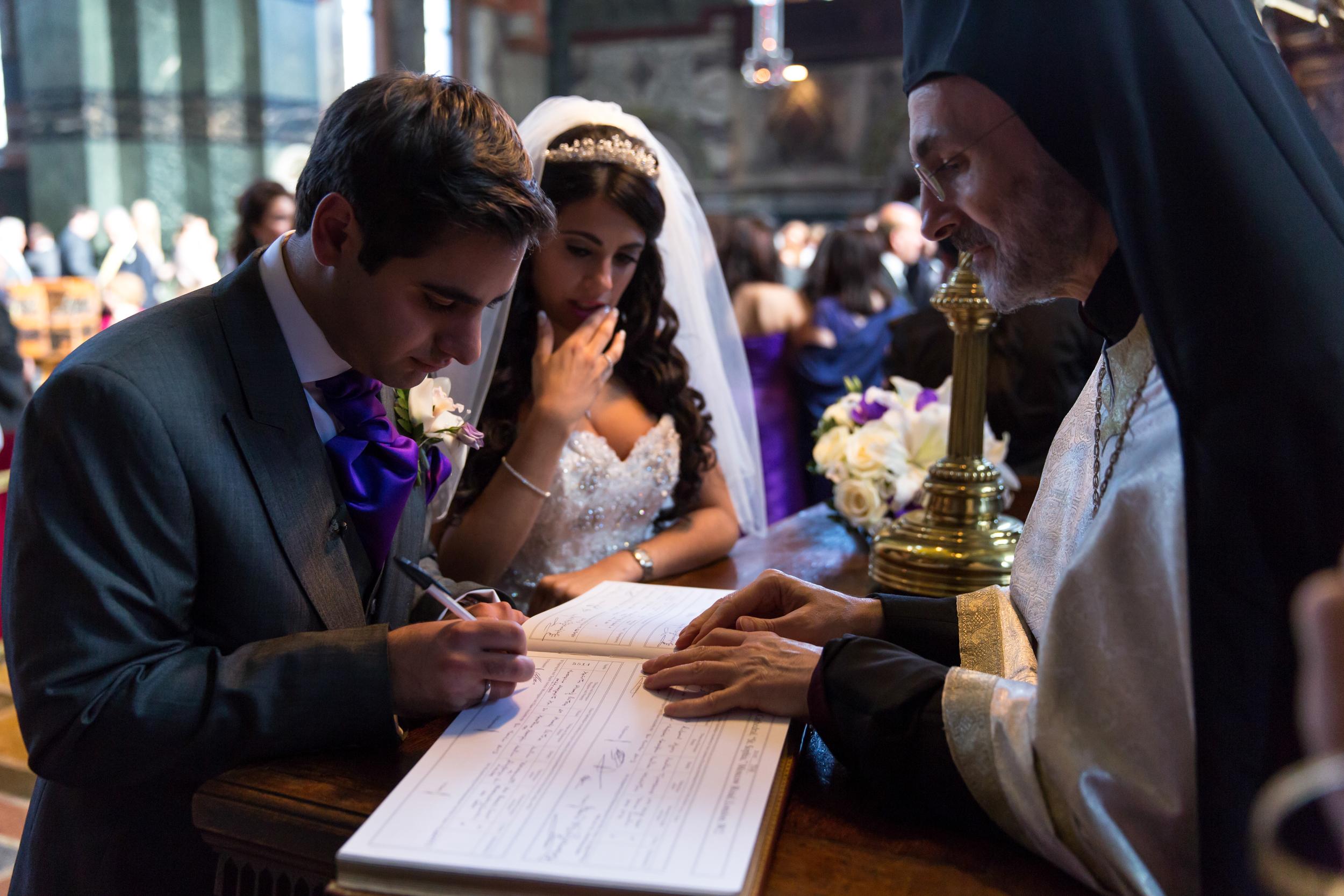 Christos & Josephine Wedding
