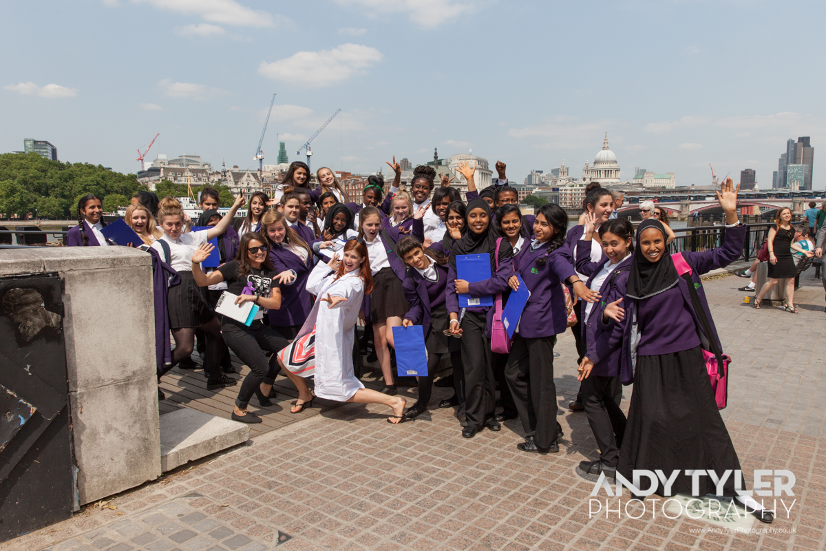 A School Science Trip to Soapbox Science on the Southbank