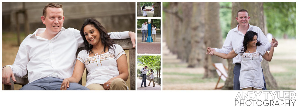 Chris & Anjana on their engagement shoot