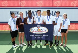 Junior team tennis players participate in the USTA Northern Championship series, and we've sent teams to USTA nationals in past years.