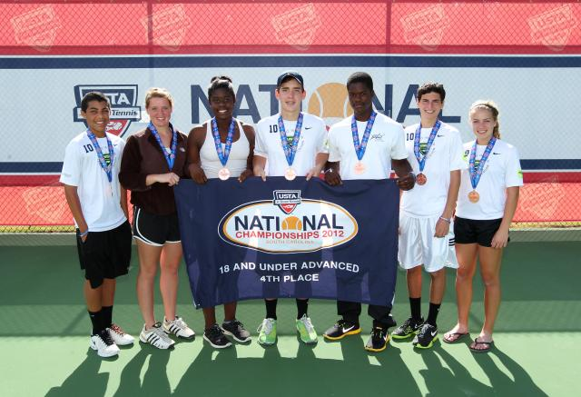 Our junior tennis program is one of the best in the state--we routinely send junior team tennis participants to nationals.