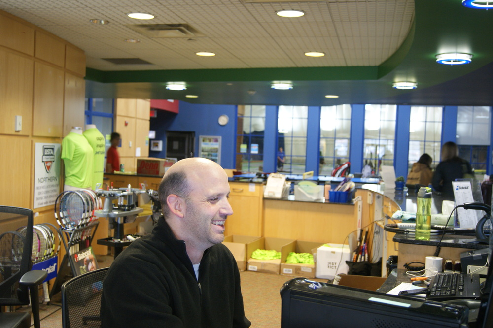 Brad Ferg is front desk staff at Fred Wells Tennis & Education Center, a premier St. Paul tennis facility and youth development program offering tennis lessons, classes, leagues, teams, summer camps and youth development programs.