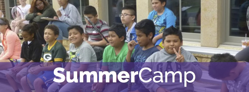Our St. Paul summer camp for low-income youth offers tennis instruction, off-court games, team-building activities, field-trips--you name it!