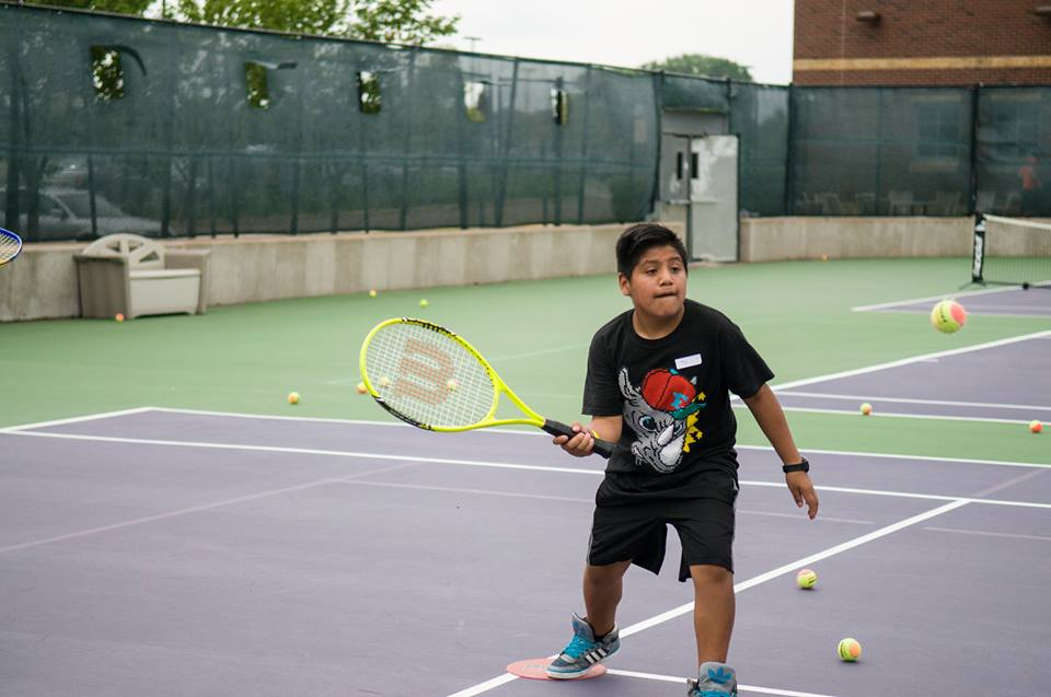 We judge the effectiveness of our tennis program for low-income Twin Cities youth by observing factors like engagement in learning, communication skills, relations with peers and initiative.